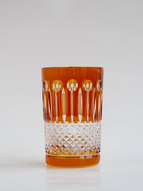 COLORES 6 Vasos Bajos naranja 150ml