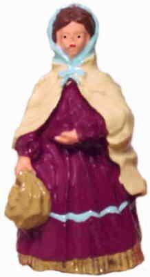 #4087 - Lady W/ Bag