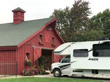 Cozy Red Barn RV Site