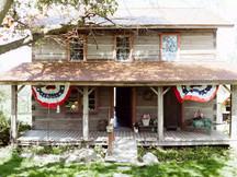 Vintage 1850's Log Cabin