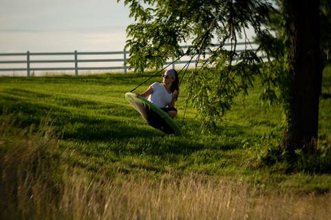 Tree Swing Fun