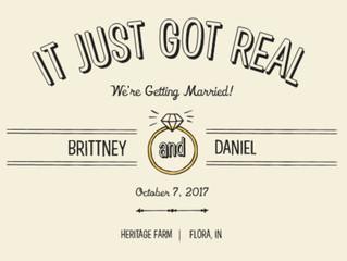 Congratulations Brittney & Daniel!