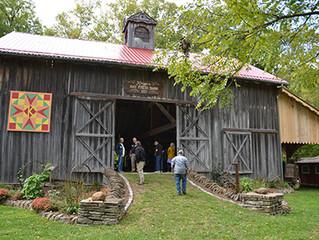 Unusual barn inspires ambitious restoration project