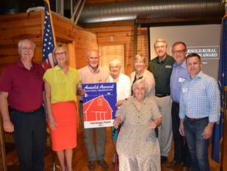 Howard County Farm Wins Rural Preservation Award