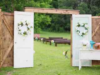 Make Your Outdoor Wedding Feel Intimate