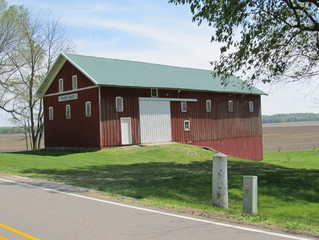 Don't forget about the old, red barn