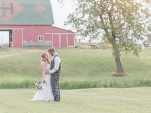 RUSTIC MEETS ELEGANCE IN THIS INDIANA ALPACA FARM WEDDING: THE REAL WEDDING OF CORINNA AND TAYLER