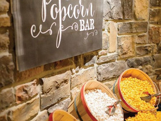 CREATING A FABULOUS POPCORN BAR FOR YOUR RUSTIC WEDDING