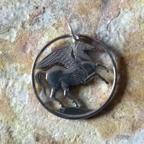 Pegasus Greek Drachma coin.  £40.00