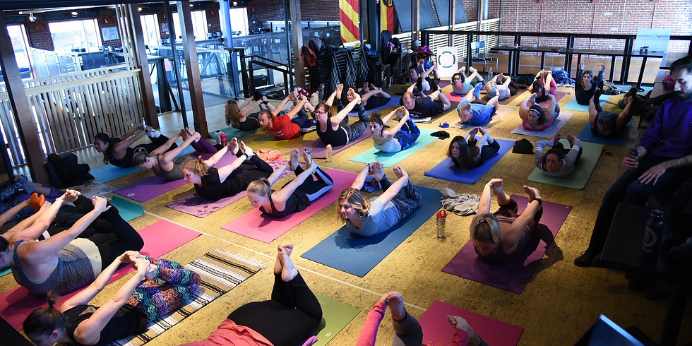 Yoga Class and Fill Your Glass at Triumph Brewery 1/21/18