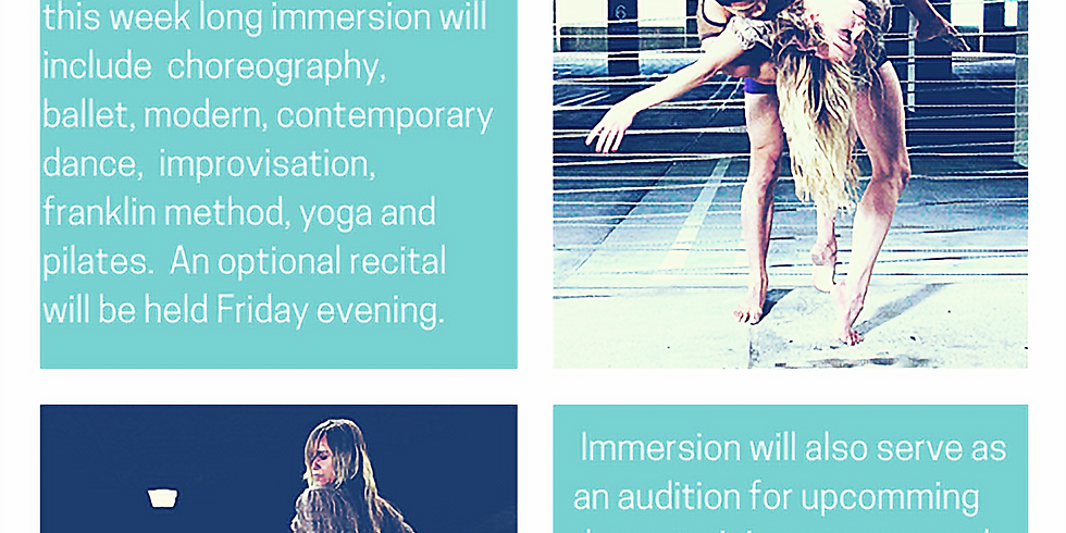 Mind Body Movement Dance Immersion