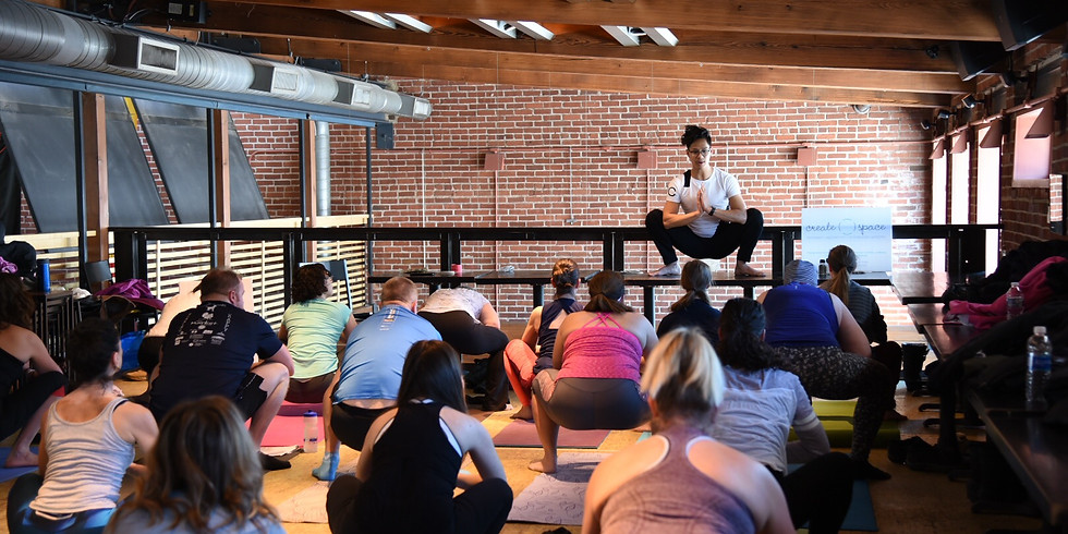 Yoga Class and Fill Your Glass at Triumph Brewery 3-4-18