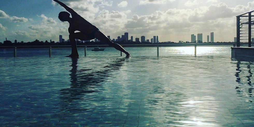 Poolside Yoga @The Raven Resort 8/4