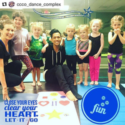 This happened today 🙏🏼❤️ #Repost _ccco_dance_complex with _repostapp_・・・_We had so much fun with _