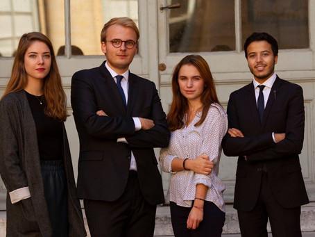 Nouveau bureau de l'Association des fiscalistes de Paris V