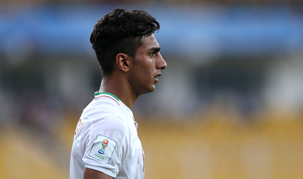Younes Delfi Iran Under-17