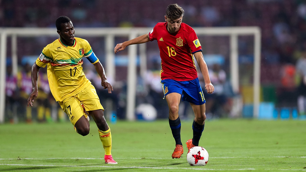 Cesar Gelabert Spain Under-17