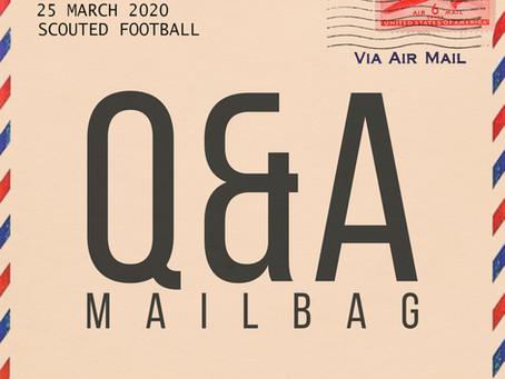 Q&A Mailbag: March 25