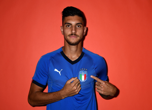 Lorenzo Pellegrini Italian national team photoshoot