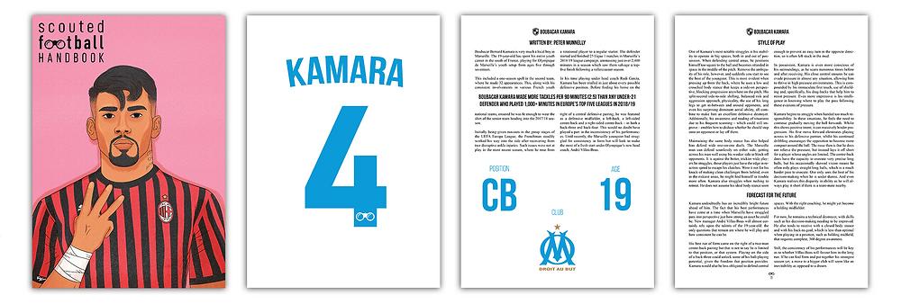 Boubacar Kamara Scouted Football Handbook