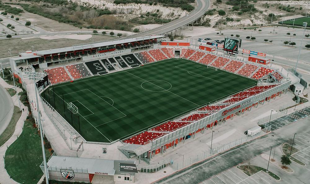San Antonio FC's home ground:Toyota Field