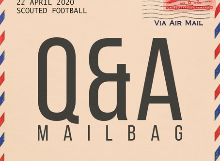 Q&A Mailbag: April 22