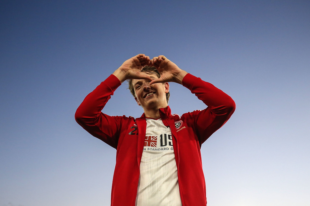 Sander Berge thanks Sheffield United supporters