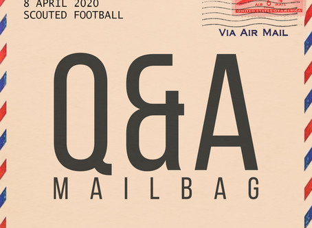 Q&A Mailbag: April 8