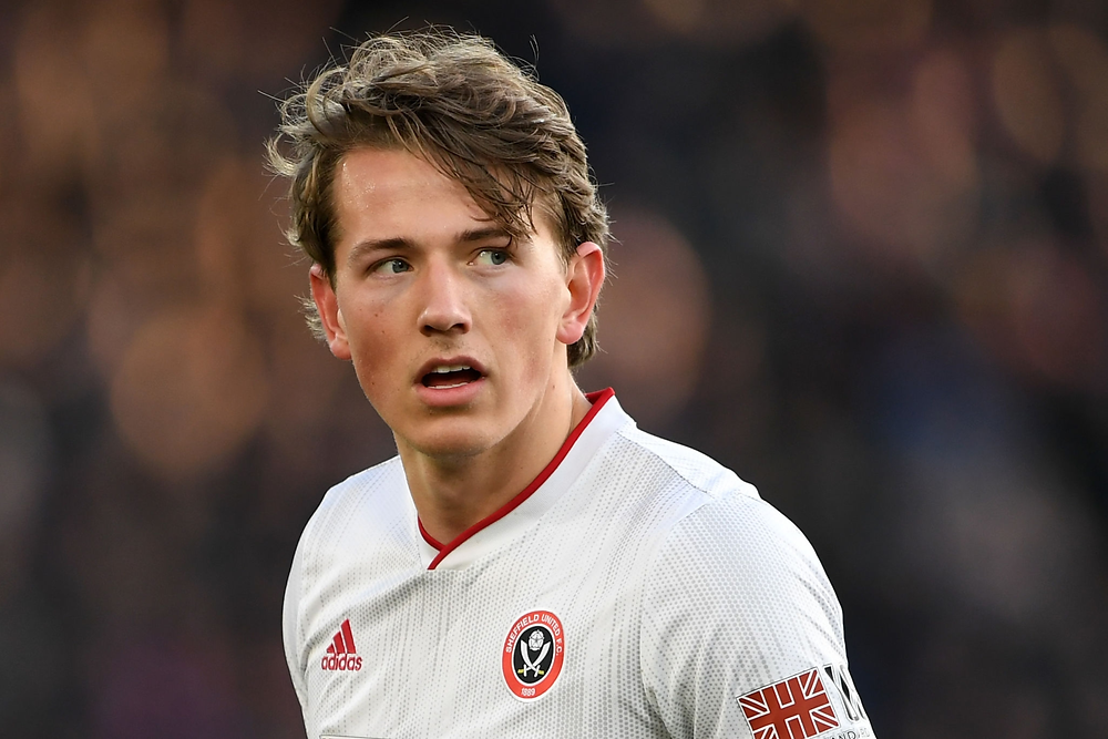 Sander Berge in the Premier League for Sheffield United
