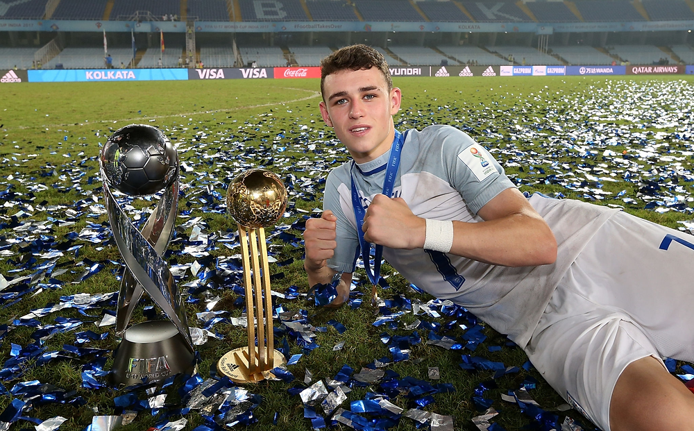 Phil Foden England Under-17