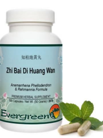Zhi Bai Di Huang Wan - Capsules (100 count)