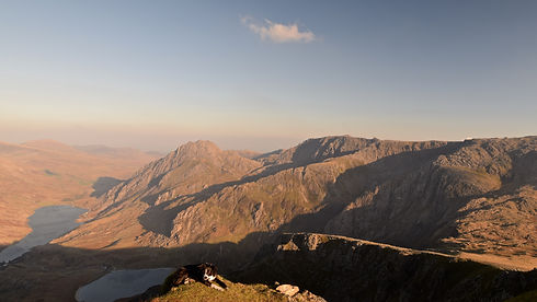 Sunset from Y Garn.JPG