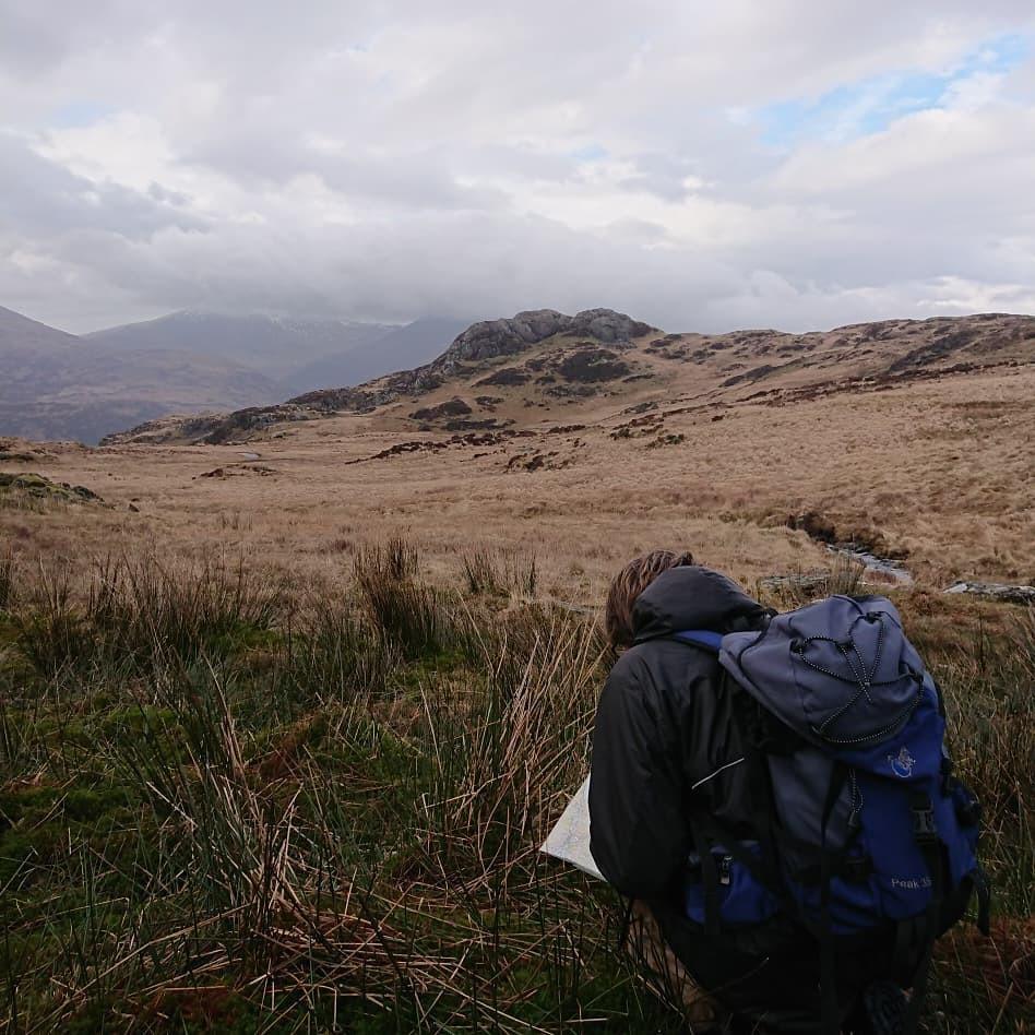 Navigation training in Snowdonia