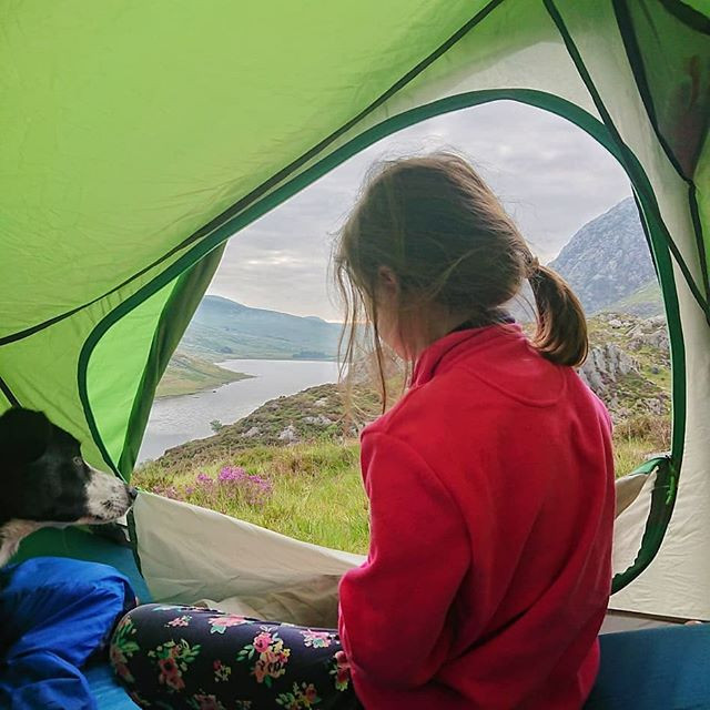Camping in the Ogwen Valley