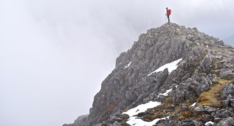 Summit of Stop Coire Sgremhach