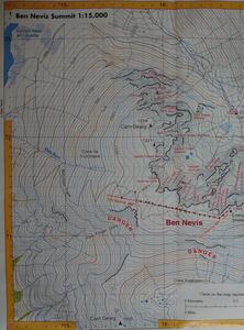 Ben Nevis Harvey Map