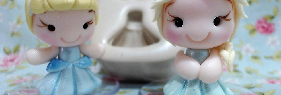 Molde Mini Princesinhas