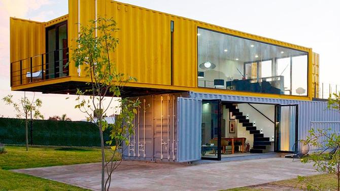 CASA CONTAINER, uma casa sustentável.