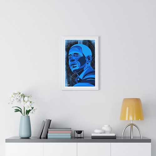 """""""What Now""""   Premium Framed Vertical Poster"""