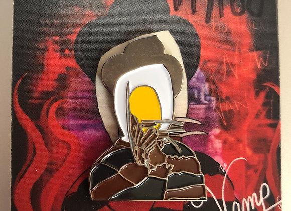 Bad Egg Freddy Pin