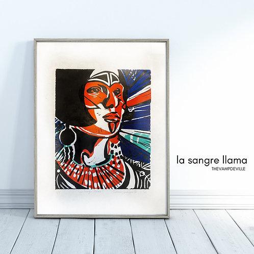 La Sangre Llama | Limited Edition