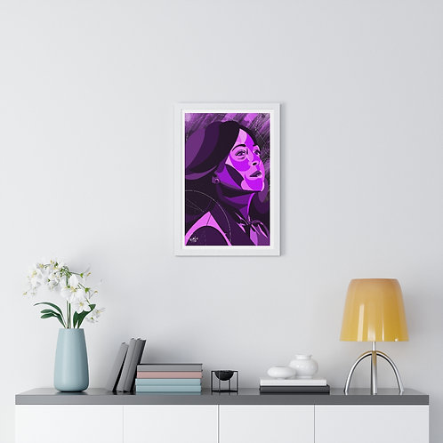 """It's Time"" | Premium Framed Vertical Poster"