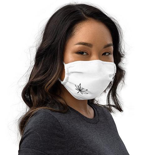 Mary Jane's White Premium Face Mask