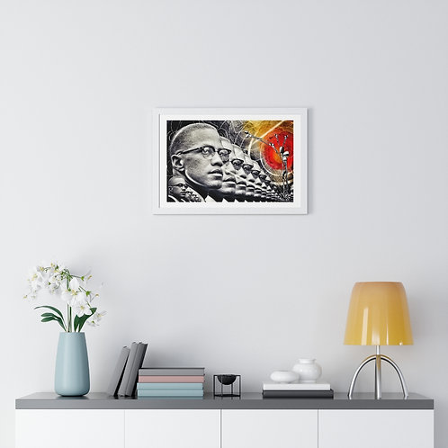 """History Repeating Vol. 1"" | Premium Framed Horizontal Poster"