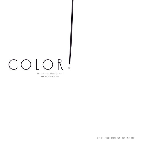 Color! Adult-ish Coloring Book