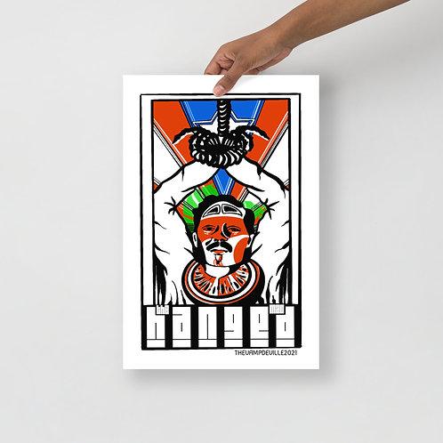 The Hanged Man | Bohiti Tarot Poster