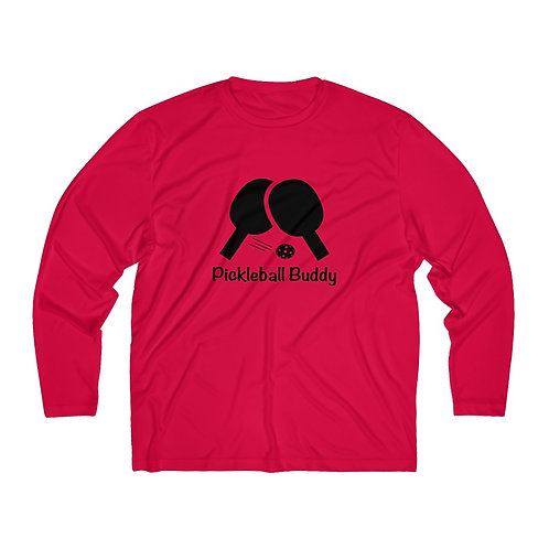 **Special Addition** Pickleball Buddy - Men's Long Sleeve Moisture Absorbing Tee