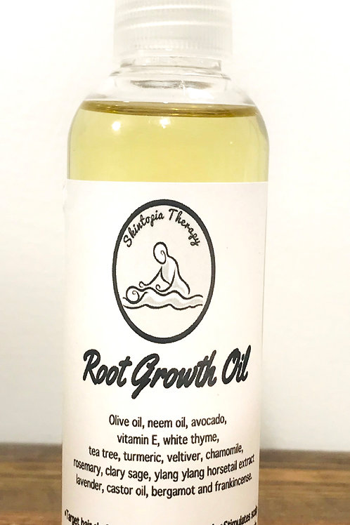 Hair Root Growth Oil with Neem, Avocado, Vitamin E, and, Olive Oil