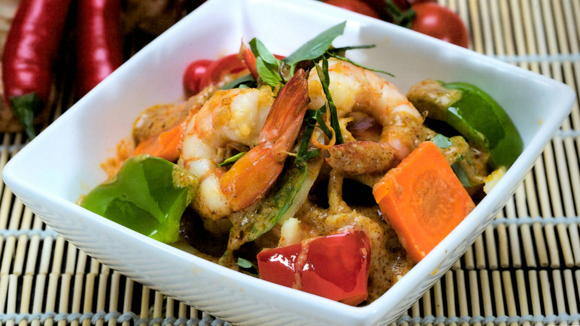 Prawn Yellow Curry