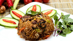 Beef Chilli Basil Fried Rice